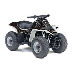 AMR Racing Suzuki LT80 All Years ATV Quad Graphic Kit   Reaper Black