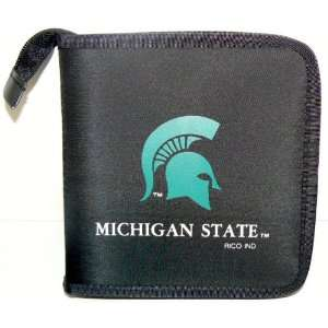 NCAA Licensed Michigan State CD DVD Blu Ray Wallet Electronics