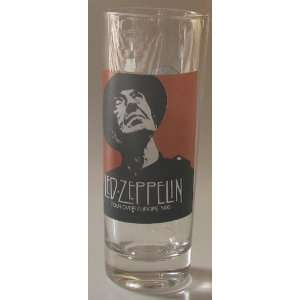 Led Zeppelin Shooter Glass Led Zeppelin Tour Over Europe