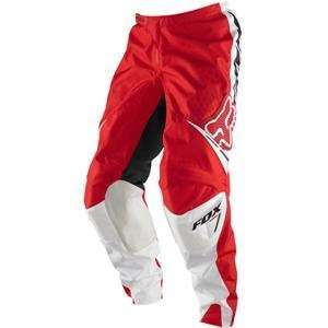 Fox Racing Youth 180 Race Pants   2011   22/Bright Red