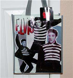 ELVIS PRESLEY The King Jailhouse Rock SHOPPING TOTE GIFT BAG 4 x 10