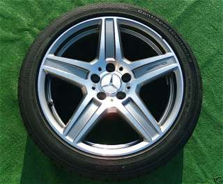 OEM 2011 AMG Mercedes Benz E63 18 Wheels Tires E Class