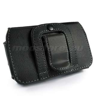 LEATHER CASE COVER POUCH FOR SAMSUNG S8500 WAVE BLACK