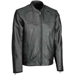 Cool Leather Jacket , Gender Mens, Color Black, Size 40 XF09 4963