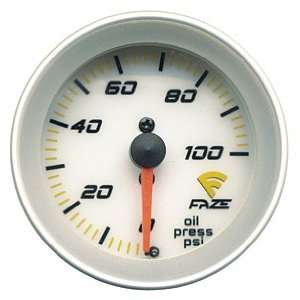 Faze 883101 Mechanical Oil Pressure Gauge Automotive