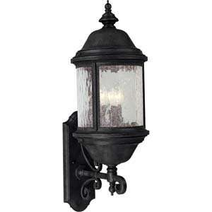 Progress Lighting P5653 31 Ashmore Textured Black Outdoor