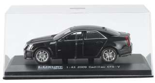 43 2010 CADILLAC CTS V BLACK BY LUXURY DIECAST