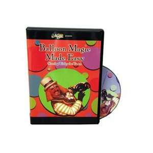 Balloon Magic Made Easy DVD Magicians Magic Tricks