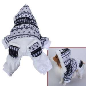 Pet Dog Hoodie Winter Jumpsuit Coat Jacket   Size S