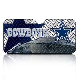 NFL Team Dallas Cowboys Car Front Windshield Sun Shade Automotive
