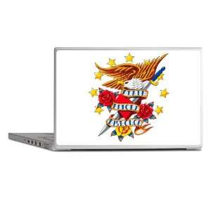 Laptop Notebook 17 Skin Cover Bald Eagle Death Before