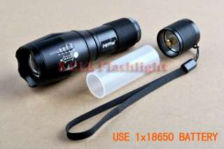 Zoom lamp CREE R5 290Lumens 3Mode 18650/AAA LED zoomable Flashlight