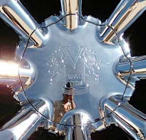 Very Rare Chrome Vogue SPIDER Wheel CENTER CAP Cadillac