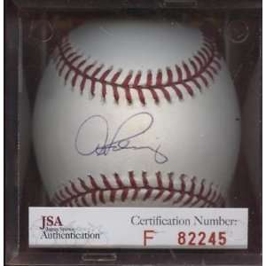 Alex Rodriguez Signed Ball   Single JSA   Autographed