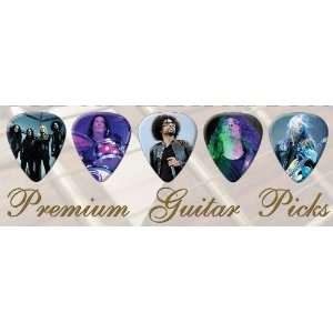 Alice In Chains Premium Guitar Picks Bronze X 5 Medium
