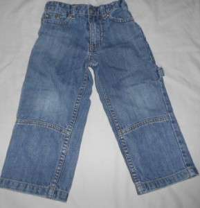 BOYS SIZE 3T NAUTICA MEDIUM WASH JEANS WITH ADJUSTABLE WAIST