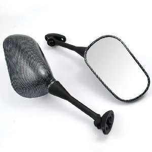 Carbon Fiber Motorcycle Racing Mirrors For Honda 03 08 600 RR 600RR 04