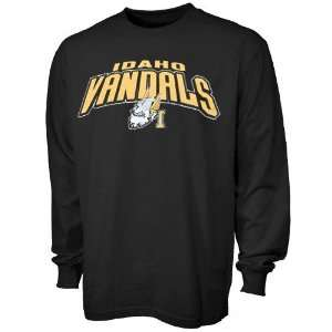 Idaho Vandals Black Big Time Long Sleeve T shirt Sports