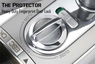 Protector Heavy Duty Fingerprint Door Lock (Left)