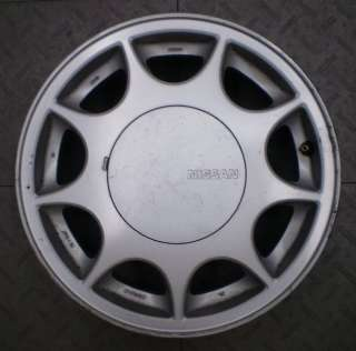 62273 NISSAN MAXIMA 15 FACTORY ALLOY WHEEL RIM