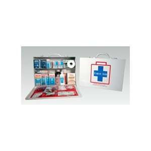 Metal   75 Person First Aid Kit (case w/supplies) Sports