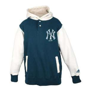New York Yankees Youth Adidas Vintage Hooded Sweatshirt
