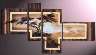 With frame)Painting Abstract Modern Art Canvas New Manual Wall