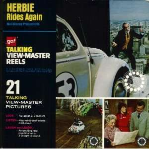 Herbie Rides Again GAF Talking View Master Reels Toys & Games