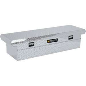 INDUSTRIAL ALUMINUM DIAMOND PLATE 70 CROSSBED DEEP TRUCK TOOL BOX