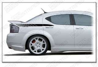 Dodge Avenger Quarter Panel Stripes Decal Kit 2008 2011