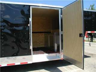 NEW 8.5 X 38 Enclosed Gooseneck Cargo Carhauler Trailer