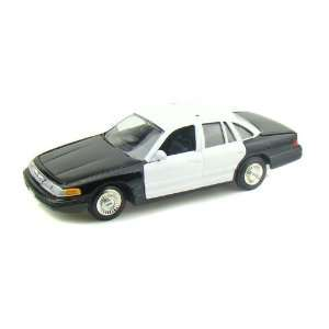 1998 Ford Crown Victoria Police Car Blank 1/24 Black