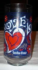 Tastee Freez   Love Glass