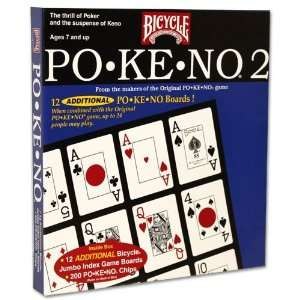 Pokeno No. 2 Card Game By Bicycle Toys & Games