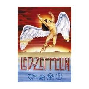 LED ZEPPELIN Swansong Music Poster