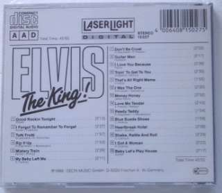 NEW Elvis Presley The King Rare Import CD 20 Hits