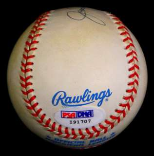 NIMOY SIGNED AUTOGRAPHED OAL BUDIG BASEBALL BALL PSA/DNA