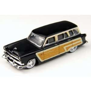 HO 1953 Ford Country Squire Wagon, Raven Black Toys & Games