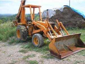 Case 580E service repair manual super E loader backhoe