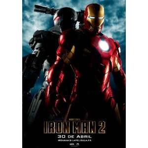 Iron Man 2 Poster Spanish B 27x40 Robert Downey Jr