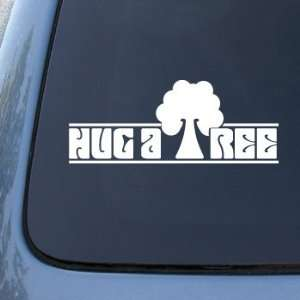 Hug a Tree   Hugger   Car, Truck, Notebook, Vinyl Decal Sticker #2308