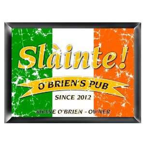 Personalized Pride Of The Irish Pub Sign Custom Name Irish