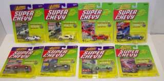Johnny Lightning SUPER CHEVY Die Cast Cars LOT SET NEW Camaro Real