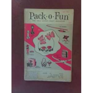 Pack O Fun Scrap Craft Magazine May 1965