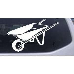 Contractor Landscape Wheelbarrow Business Car Window Wall Laptop Decal