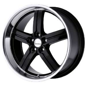 Lumarai Wheels Morro Gloss Black Wheel with Machined Lip