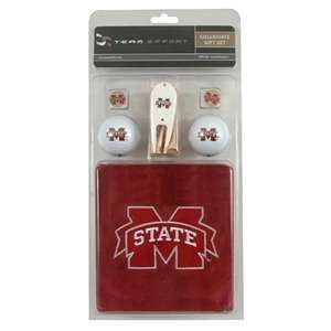 Mississippi State Bulldogs College NCAA Golf Logo Gift Set