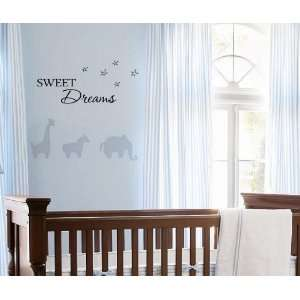 Sweet DreamsVinyl wall art Inspirational quotes and