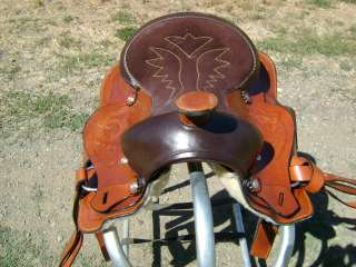 13 WESTERN PLEASURE TRAIL HORSE YOUTH PONY SADDLE