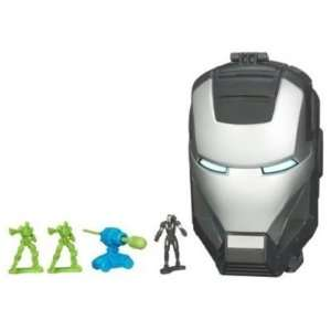 Iron Man 2 Movie Series Micro Head Playset War Machine